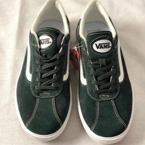 Vans-Wally-3-Forest-Green-True-White-Classic Skate